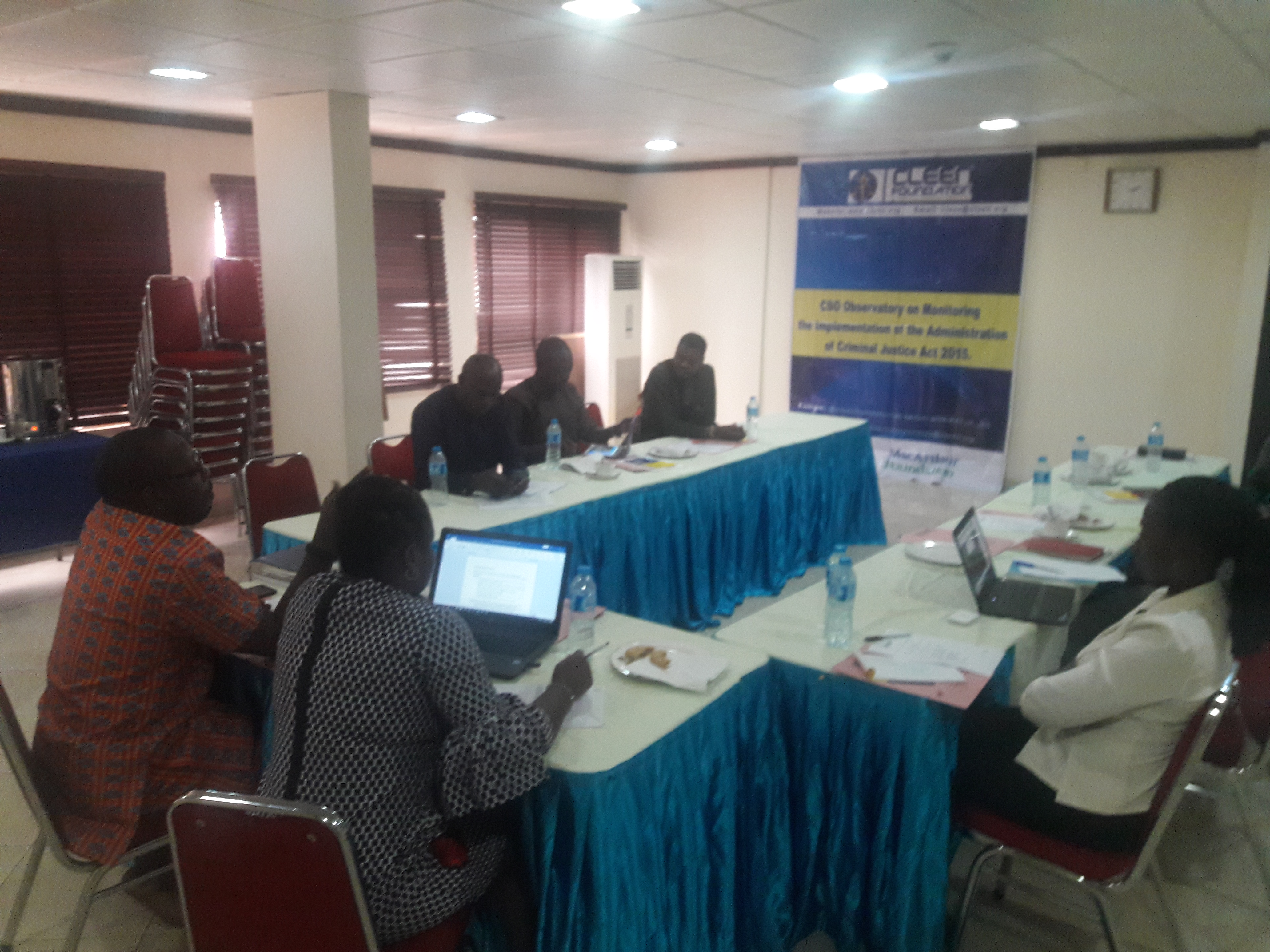 Civil Society Observatory On The Implementation Of Administration Of Criminal Justice In Nigeria Advocates For The Setting Up Of ACJA Awareness Desk In Police Formations