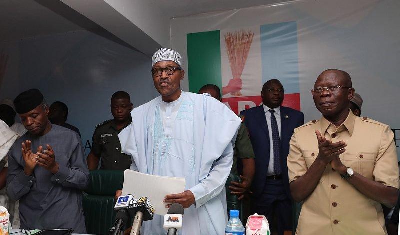 Don't return undertakers to power, says Buhari