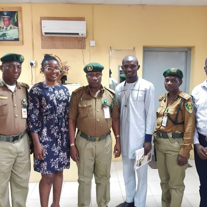 Lagos ACJL working group visits Nigerian Correctional Service boss