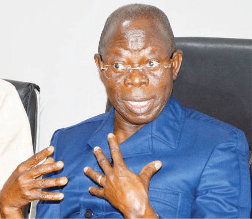 Appeal Court Stops Suspension Of Oshiomhole