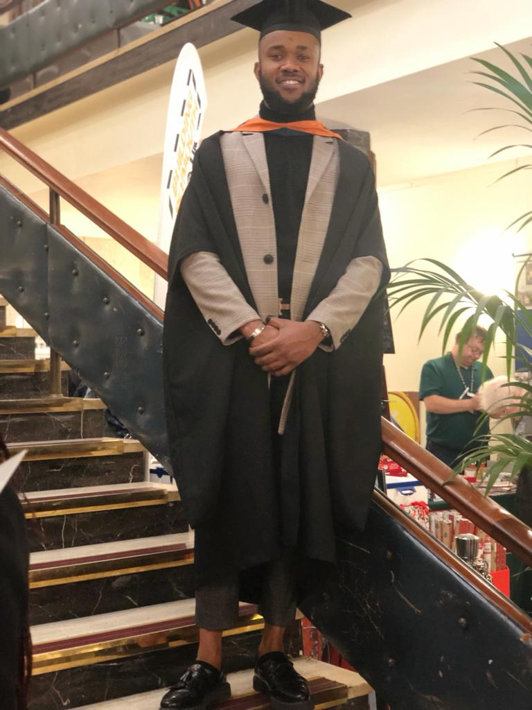 Nigerian emerges 'First Black President' at University of Plymouth