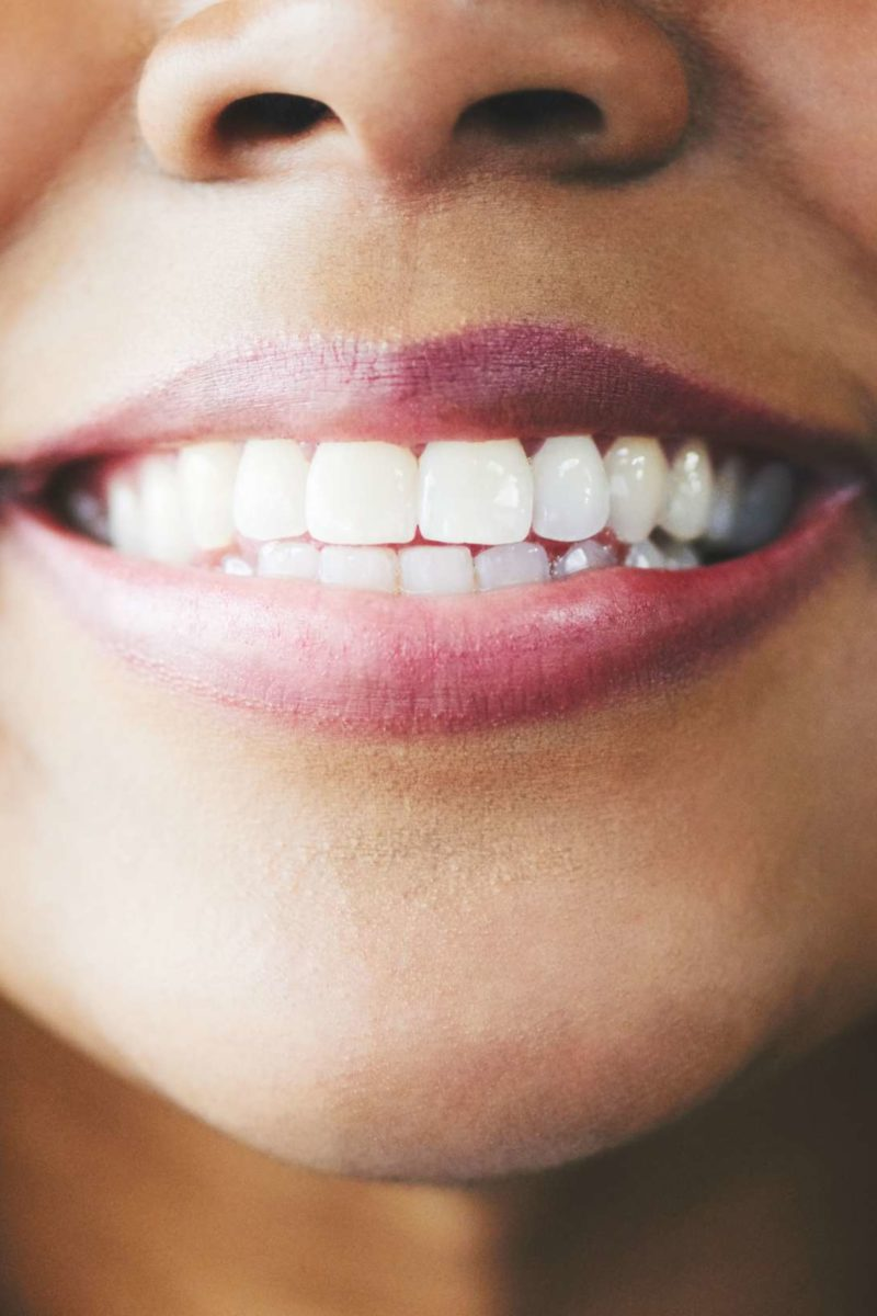 The bacteria and fungi in your mouth, and a floss is a reminder to goto your dentist