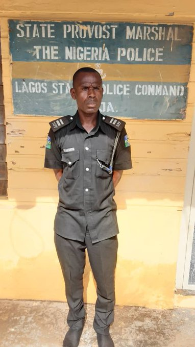 Police Inspector Arrested For Extortion In Lagos
