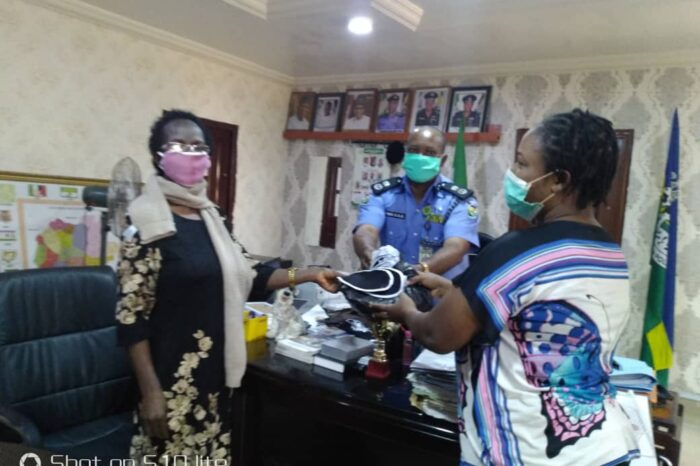COVID-19: GRIP donates facemasks to Ekiti State Police Command