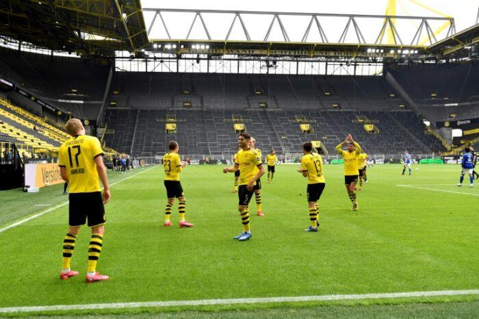 German football kicks off as Europe begins reopening