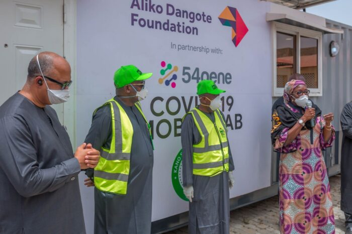Kano State Commissions Mobile Molecular Lab Funded By Dangote Foundation