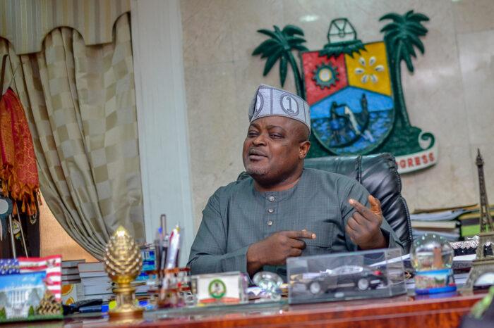 Lagos Lawmakers Turn Prayer-Warriors, Praise-Singer For Speaker Mudashiru Obasa