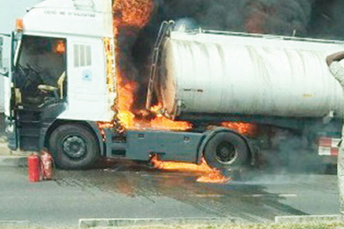 Tanker explosion kills 2 in Ibadan