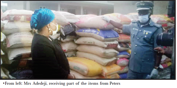 Ministry gets Custom's N40.8m relief materials