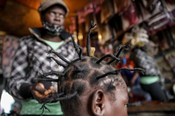 'Coronavirus hairstyle' spikes in popularity in Africa