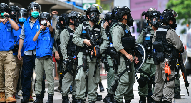 China To Establish 'National Security Agency' In Protest-Ridden Hong Kong