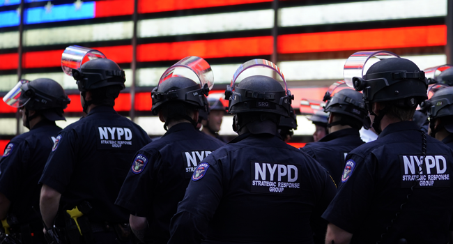 New York Police To Disband Plain-Clothes Unit