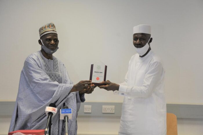Arewa House Inducts Magu Into PMB's Hall of Fame