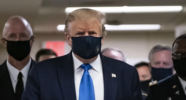 Trump Accuses Harris, Biden Of Playing Politics With Anti-Virus Vaccine