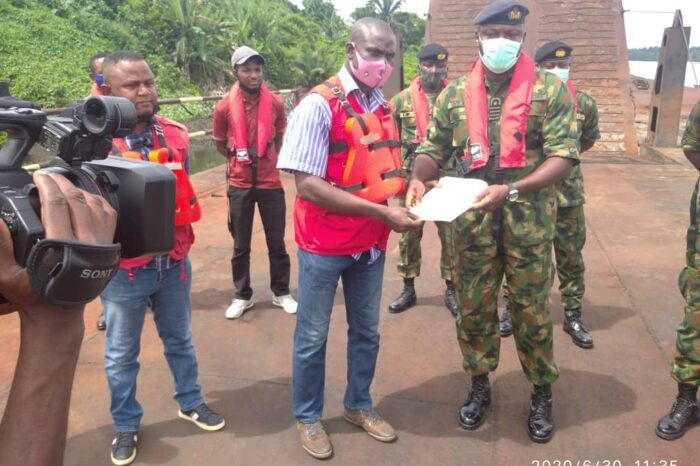 Navy Hands over Three Barges to EFCC in Port Harcourt