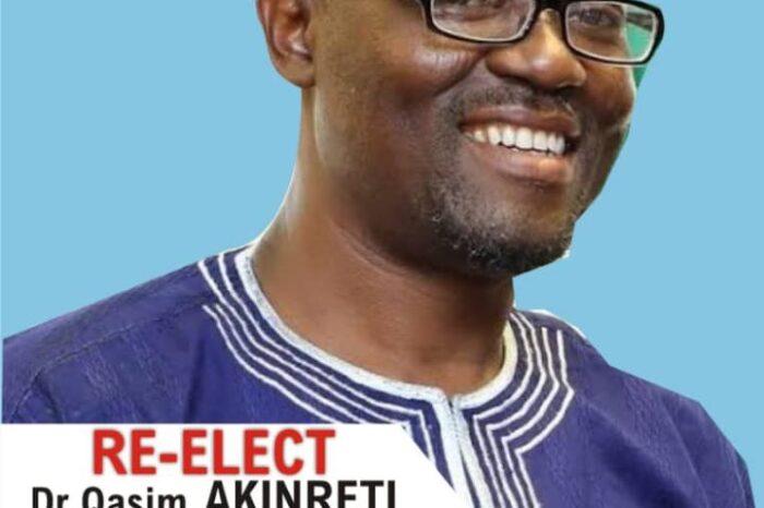 Top Reasons Dr Qasim Akinreti Should be Re-elected Lagos Chairman