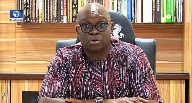 Don't Return To APC After Edo Election, Fayose Advises Obaseki