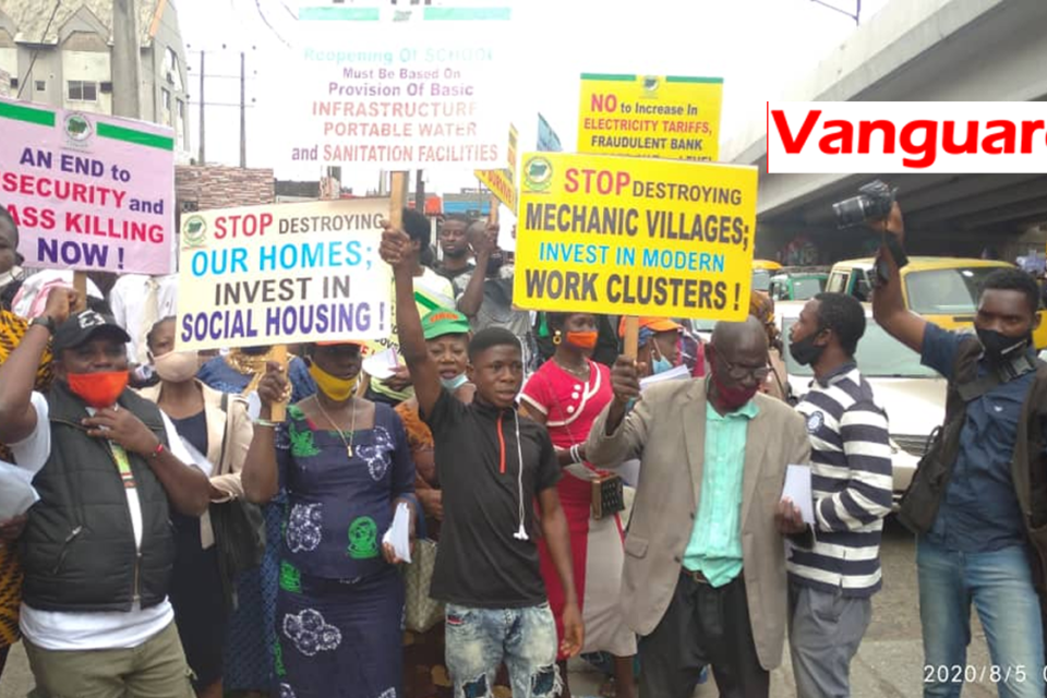 Again, Police Stops Revolution Now Protest In Lagos