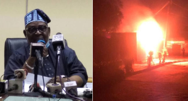Ondo Fire: Over 5,000 Smart Card Readers Destroyed – INEC
