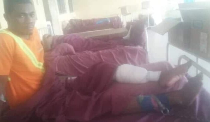 'Police Chain Gunshot Victim To Bed Over Enugu Killings'