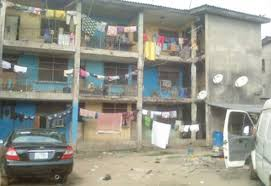 Inside Smelly and Decaying Police Barracks in Lagos