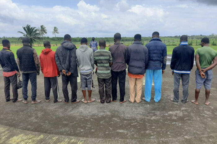 EFCC Quizzes 11 'Illegal Oil Bunkerers' in Port Harcourt as Court Jails 14 Internet Fraudsters in Calabar