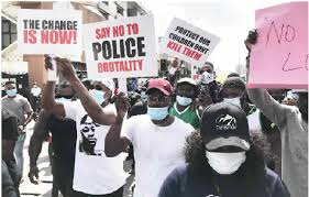 # ENDSARS: The chairman of  Council calls for calm as youths protest in Ikorodu