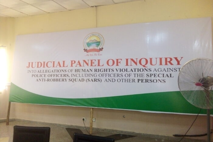 EKITI STATE HOSTS OPENING SESSION OF THE JUDICIAL PANEL OF INQUIRY INTO ALLEGATIONS OF HUMAN RIGHTS VIOLATIONS AGAINST POLICE OFFICERS, INCLUDING OFFICERS OF THE SPECIAL ANTI-ROBBERY SQUAD (SARS) AND OTHER PERSONS