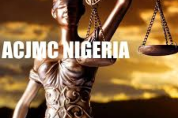 Emergency Steps for the Reform of the Criminal Justice Sector in Nigeria by ACJMC