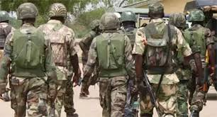 Brutality by military men in Asaba -video