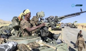 Rockets hit Eritrea capital after Ethiopia declares victory