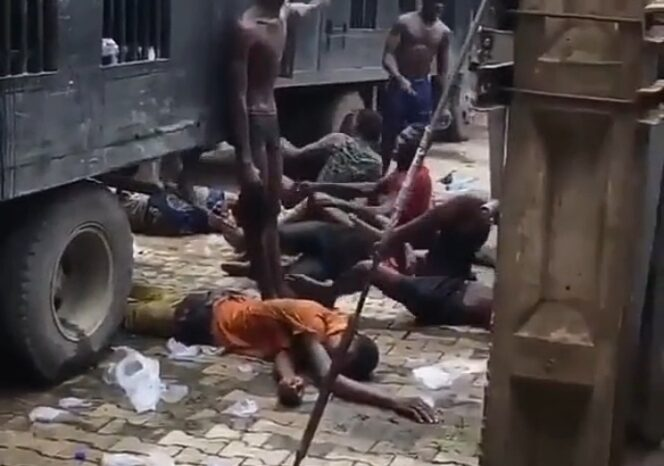 Lagos Police Taskforce: Uniformed Operatives on Black Maria Not Our Officers- CSP Olayinka Egbeyemi