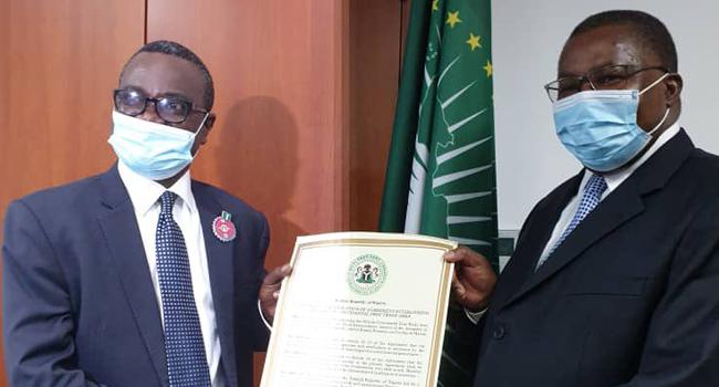 Nigeria Submits Ratified AfCFTA Agreement To AU