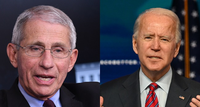 Fauci Accepts Biden's Request To Be Chief Medical Adviser, Stay On COVID-19 Team