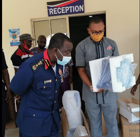 NSCDC Receives COVID-19 Testing Equipment from NCDC