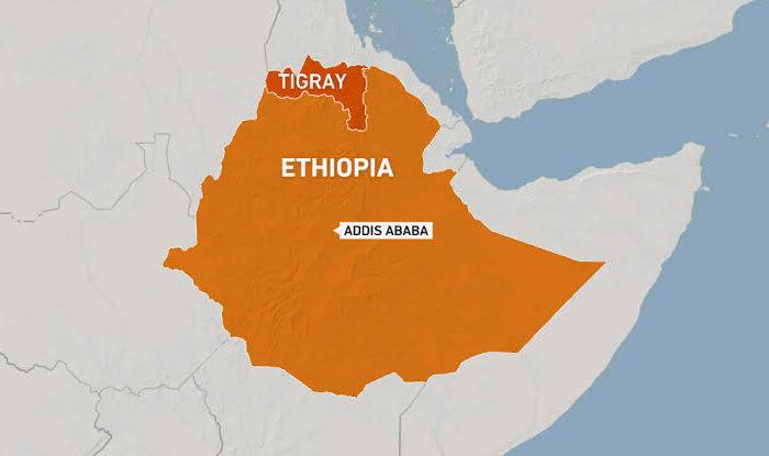 APOBuildings belonging to Norwegian Refugee Council destroyed in Ethiopia's Tigray