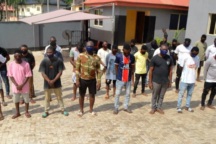 Osogbo: Army Deserter, 33 Other Suspects Land in EFCC Net Over Internet Fraud