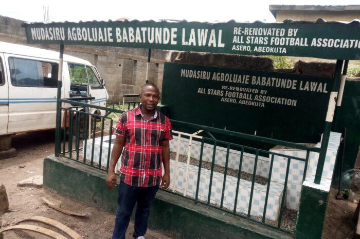 30 Years Later, Mechanics Take over Late Muda Lawal's Burial Site