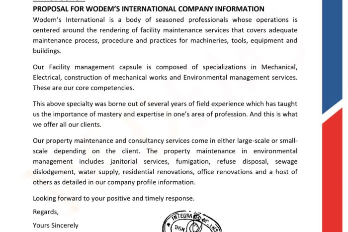Why You Should Key Into the Unique Selling Points of Integrated Wodems International