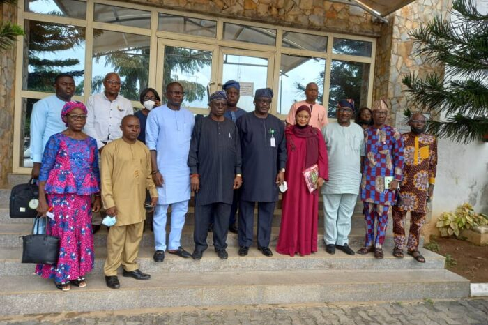 HGSFP: Social Investment Entourage, Others Meet Ekiti Deputy Governor