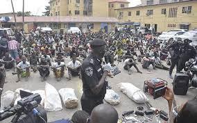 Lagos Police Arrest 1320 Miscreants in 3 Months